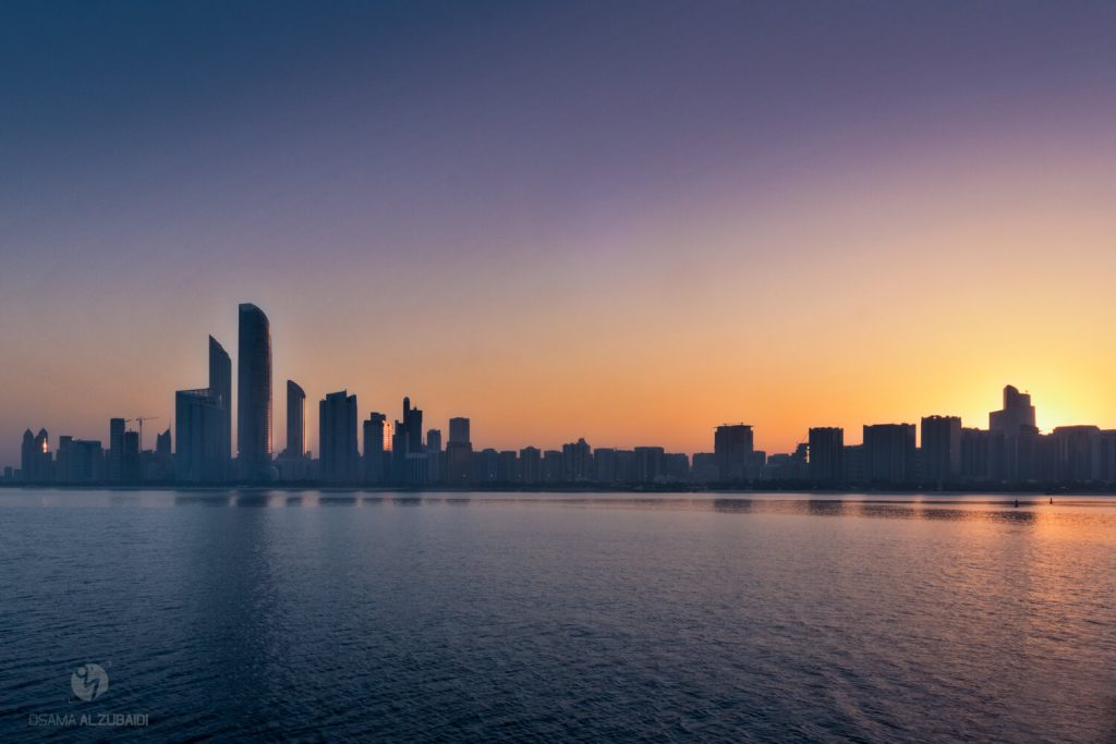 Abu Dhabi Cornish Sunrise