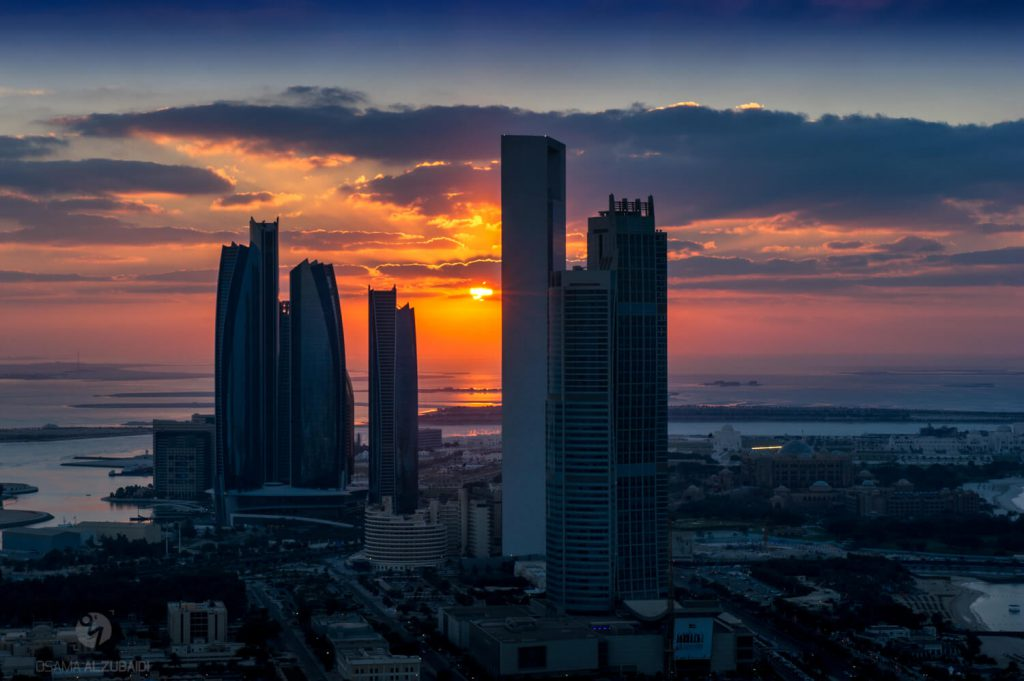 Abu Dhabi Sunset1