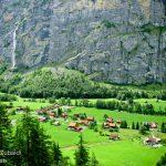 منظر من أعلى شلالات تروميل باخ- سويسرا