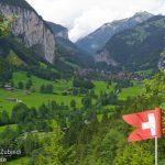 من أعلى شلالات تروميل باخ- سويسرا