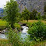 حول شلالات تروميل باخ- سويسرا