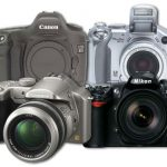 كاميرات رقمية متنوعة