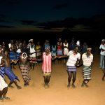 لقطة من رقصات الهامرز