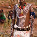 Body paint في جسم أحد أفراد الهامرز