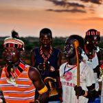 من رقصات الهامر الشعبية